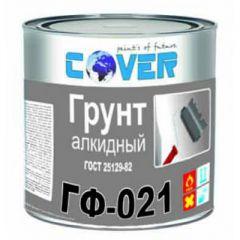 Грунтовка алкидная Cover ГФ-021 серый 1 кг