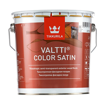 Антисептик Tikkurila Valtti Color Satin EС 2,7 л