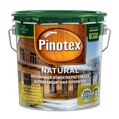 Декоративная пропитка Pinotex Natural 2,7 л