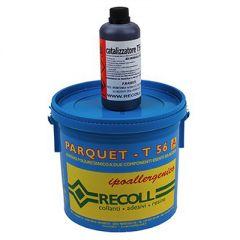 Клей Recoll для паркета Parquet T 56 двухкомпонентный 10 кг