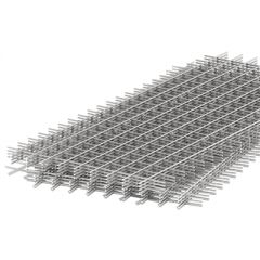 Сетка сварная оцинкованная в картах кладочная 100х100х3 мм 0,5х2 м