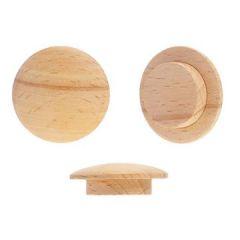 Заглушка деревянная круглая бук 14 мм