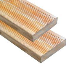 Доска палубная 30х142х3000 мм лиственница вельвет
