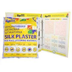 Шёлковая декоративная штукатурка Silk Plaster Master Silk MS 122