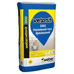 Пол наливной Weber-Vetonit 3100 финишный 20 кг