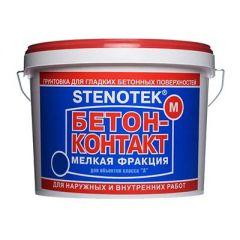 Грунтовка Stenotek Бетон-контакт мелкий 20 кг