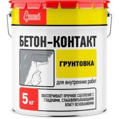 Грунтовка акриловая Старатели Бетон-Контакт 5 кг