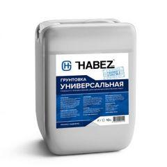 Грунтовка акриловая Habez Универсальная 10 л