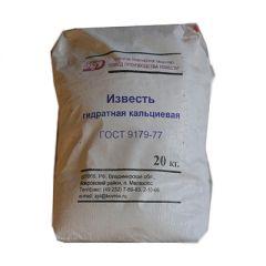 Известь ЗПИ Гидратная кальциевая ГОСТ 9179-77 20 кг