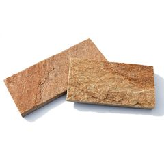 Плитка 102 камня Золото Инков без закола 15-25 мм заданная длина (м2)