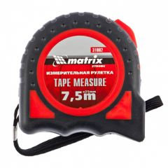 Рулетка Matrix Strong 7,5 м x 25 мм (31082)