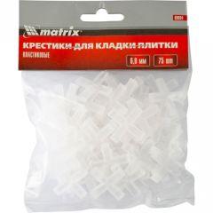 Крестики Matrix 6,0 мм для кладки плитки (88094) 75 шт