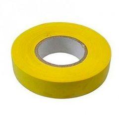Изолента СибрТех ПВХ 19 мм x 20 м желтая (88796)