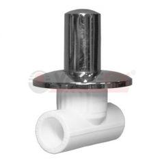 Вентиль хромированный Valfex 25 мм х 4 дюйма (10154025)