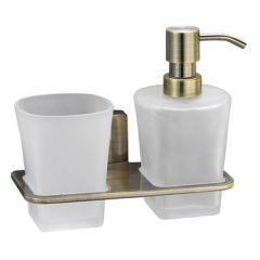 Держатель стакана и дозатора Wasserkraft Exter K-5200 K-5289 9061251