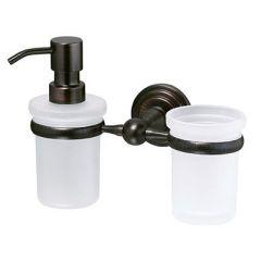 Держатель стакана и дозатора Wasserkraft Isar K-7300 K-7389 9061272