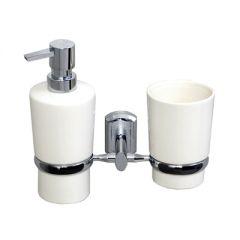 Держатель стакана и дозатора Wasserkraft K-28189 SET1495