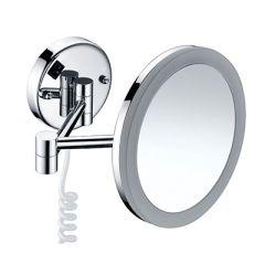 Зеркало с LED-подсветкой, 3-х кратным увеличением Wasserkraft K-1004 9061819