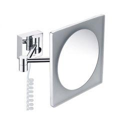 Зеркало с LED-подсветкой, 3-х кратным увеличением Wasserkraft K-1008 9061826