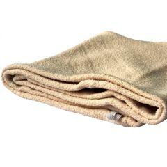 Тюрбан (махровый) для сушки волос цвет бежевый 63 х 27 см (11153-4)