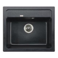Мойка кухонная прямоугольная Kaiser Black Pearl (KGM-5750-BP)