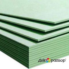 Гипсокартонный лист влагостойкий Декоратор А УК 3000х1200х12,5 мм