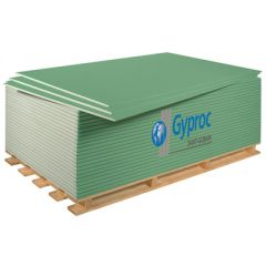 Гипсокартонный лист ГКЛВ Gyproc В GKBI УК 2500х1200х12,5 мм