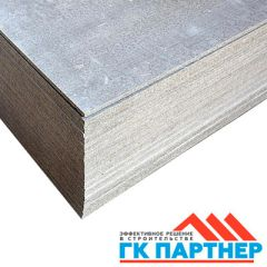 Плита цементно-стружечная Партнер 3200х1200х10 мм