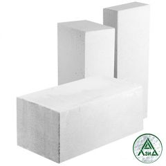 Блок из ячеистого бетона Hebel газосиликатный D400 625х250х75 мм