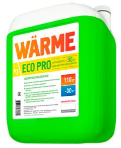 Теплоноситель Warme Eco 30 на основе пропиленгликоля 20 кг