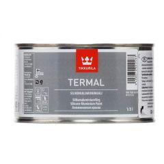 Краска силиконалюминиевая Tikkurila Termal термостойкая алюминий 1/3 л