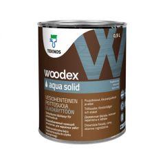 Антисептик Teknos Woodex Aqua Solid кроющий PM3 0,9 л