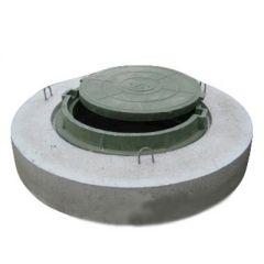 Крышка колодца ППЛ-8-1 с люком