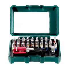 Набор бит Metabo 25 мм PH, PZ, SL, TORX, HEX (626700000) 32 шт