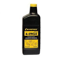 Масло Champion для четырехтактных двигателей, минеральное, SAE 30, 0,6 л (952809)