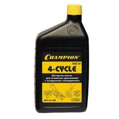 Масло Champion для четырехтактных двигателей, минеральное, SAE 30, 1 л (952810)