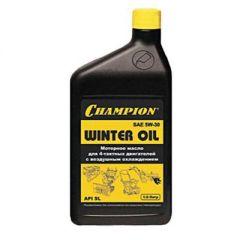 Масло Champion для четырехтактных двигателей, минеральное, зимнее, SAE 5W30, 1 л (952811)