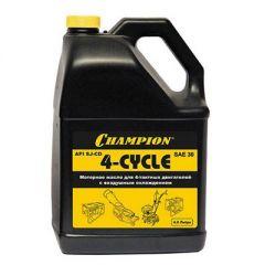 Масло Champion для четырехтактных двигателей, минеральное, SAE 30, 4 л (952821)