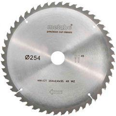 Пильный диск Metabo HW/CT 254X30 48 зуб (628061000)