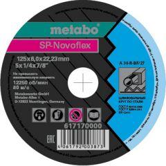 Круг обдирочный сталь SP-Novoflex Metabo 125x6,0x22,23 мм (617170000)