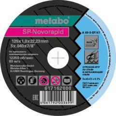 Круг отрезной Metabo 125x1,0x22,23 мм (617162000)