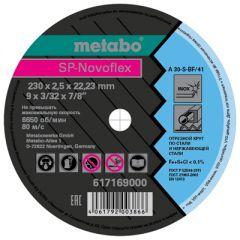 Круг отрезной Metabo по нерж. стали SP-Novoflex 230x2,5x22,23 мм (617169000)