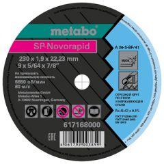 Круг отрезной Metabo 230x1,9x22,23 мм (617168000)