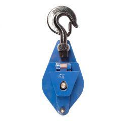 Блок однорольный для каната с крюком 1В-100Н 0,5 т.