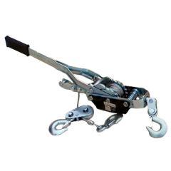 Лебедка рычажная гаражная SDB8020-1 2 т. канат 2,8 м с двойным храповым механизмом