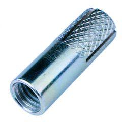 Анкерный забиваемый с насечками белый цинк М8 10х30 мм