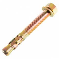 Анкер клиновой желтый цинк М10 10х65 мм