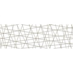 Вставка Cersanit Vegas 25х75 см Белое VG2U051 х9999215927 шт
