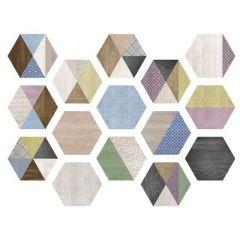 Универсальная плитка Itt Ceramic Art Deco 23,2x26,7 Hexa м2