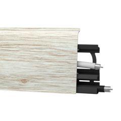Плинтус напольный Arbiton Indo 135 платиновый дуб 70х26 мм
